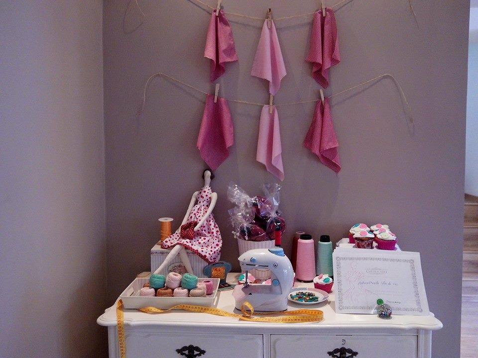 decoracao festa vovó:As artes da Vovó Dodi: Festa decoração corte e costura