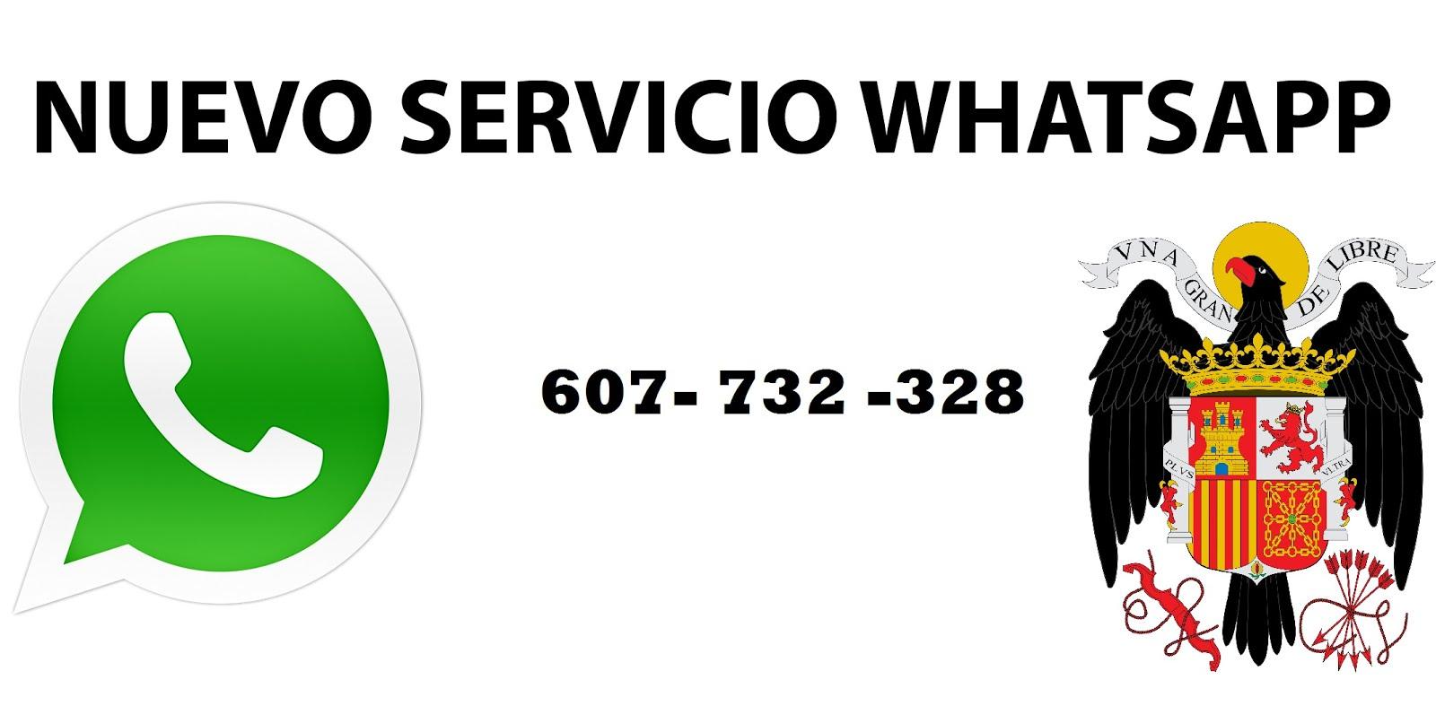 Nuevo servicio Wharsapp