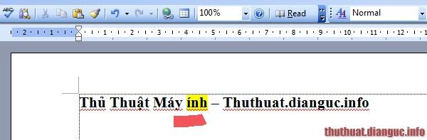 Cách sửa lỗi đánh chữ bị xóa lùi từ cũ đằng sau trong word