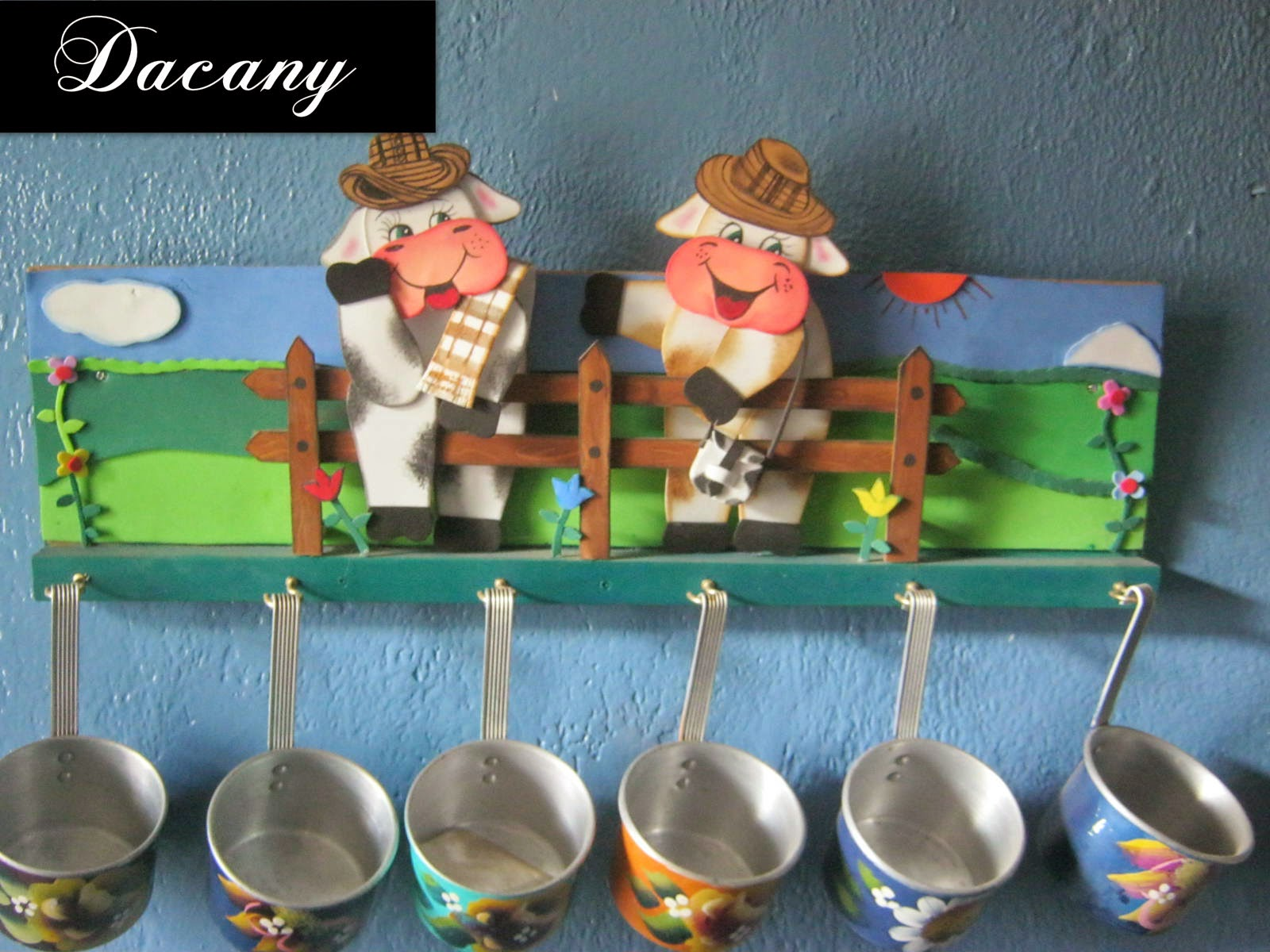 Dacany decoraciones para la cocina en foami - Decoracion para la cocina ...