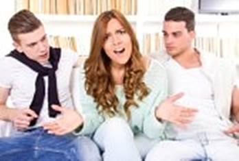 Gambar perselisihan hubungan kekasih-pacaran sudah tidak aman