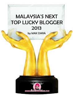 """MALAYSIA'S NEXT TOP LUCKY BLOGGER by Mak Dara"""