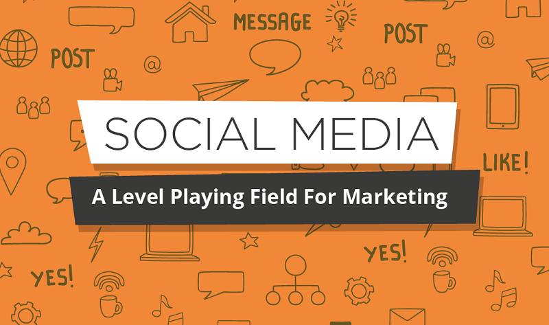 Social Media: A Level Playing Field For Marketing