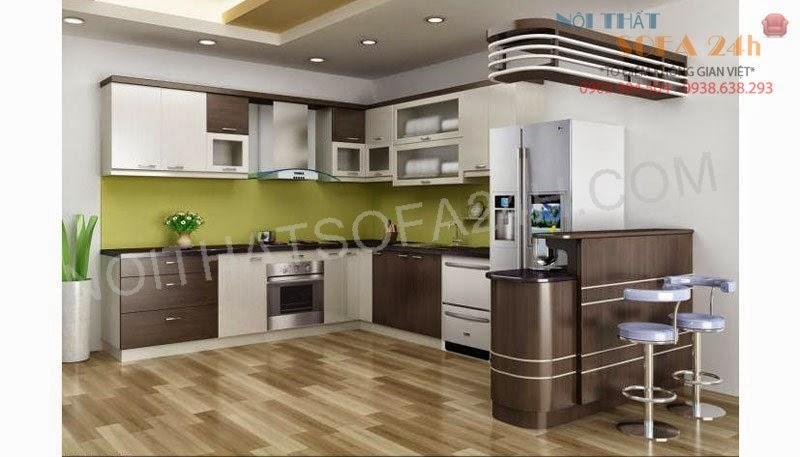 Tủ bếp TB012