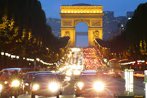 Arc De Triomphe Champs Elysees Paris