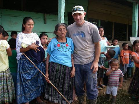 Une des doyennes du village de Secubuc