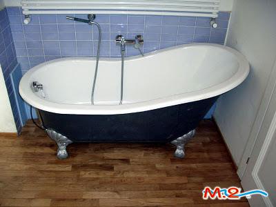 Rismaltatura vasche da bagno  M.2 Trasformazione vasca in doccia e sistema V...