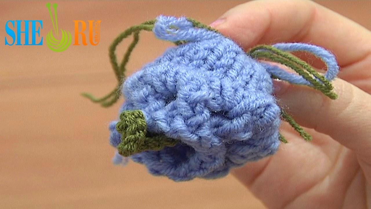 Sheruknitting How To Knit Bell Flower Knitting Tutorial 12