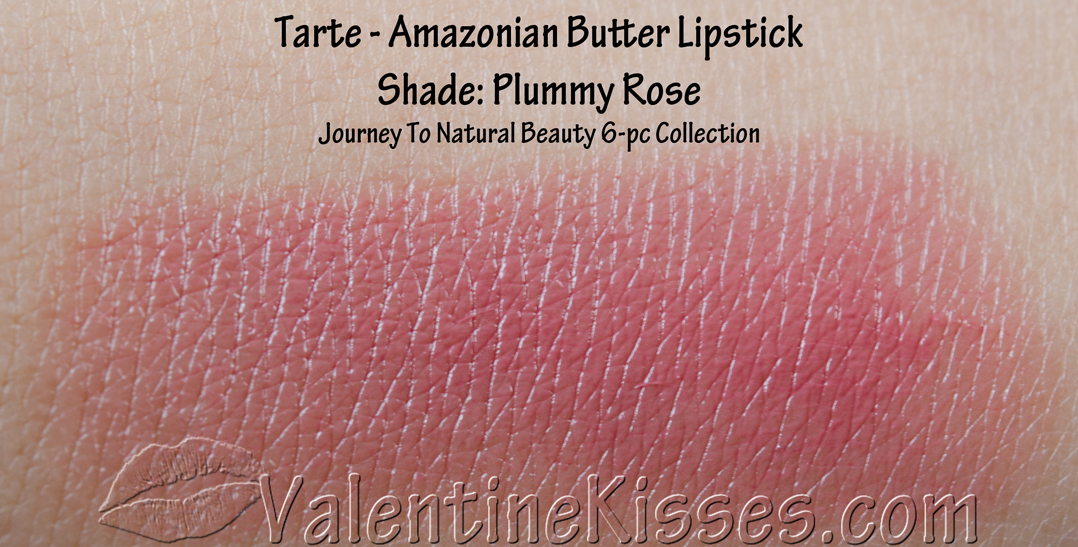 Valentine Kisses Tarte Journey To Natural Beauty 6 Pc Collection