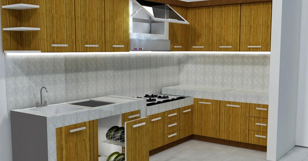 Kebutuhan kitchen set minimalis di masa modern jual for Jual kitchen set minimalis