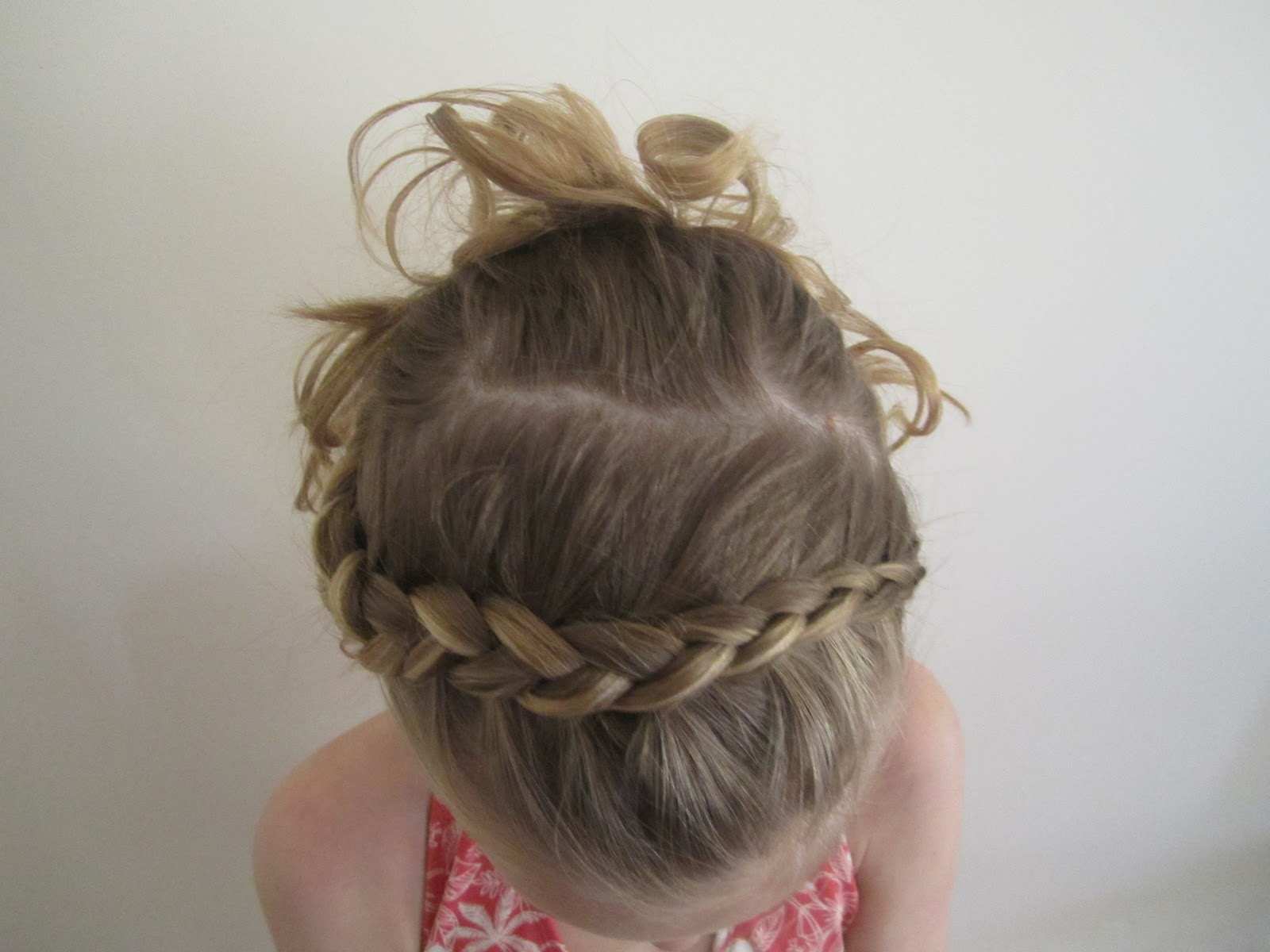 Girlz Curlz And More Little Girl Pageant Updo