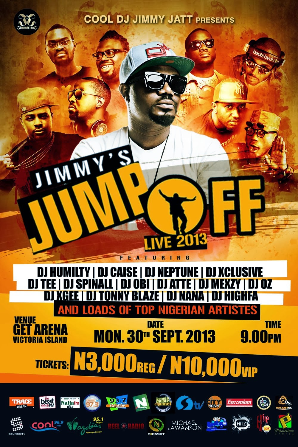 Watch: Jimmy's Jump Off 2013