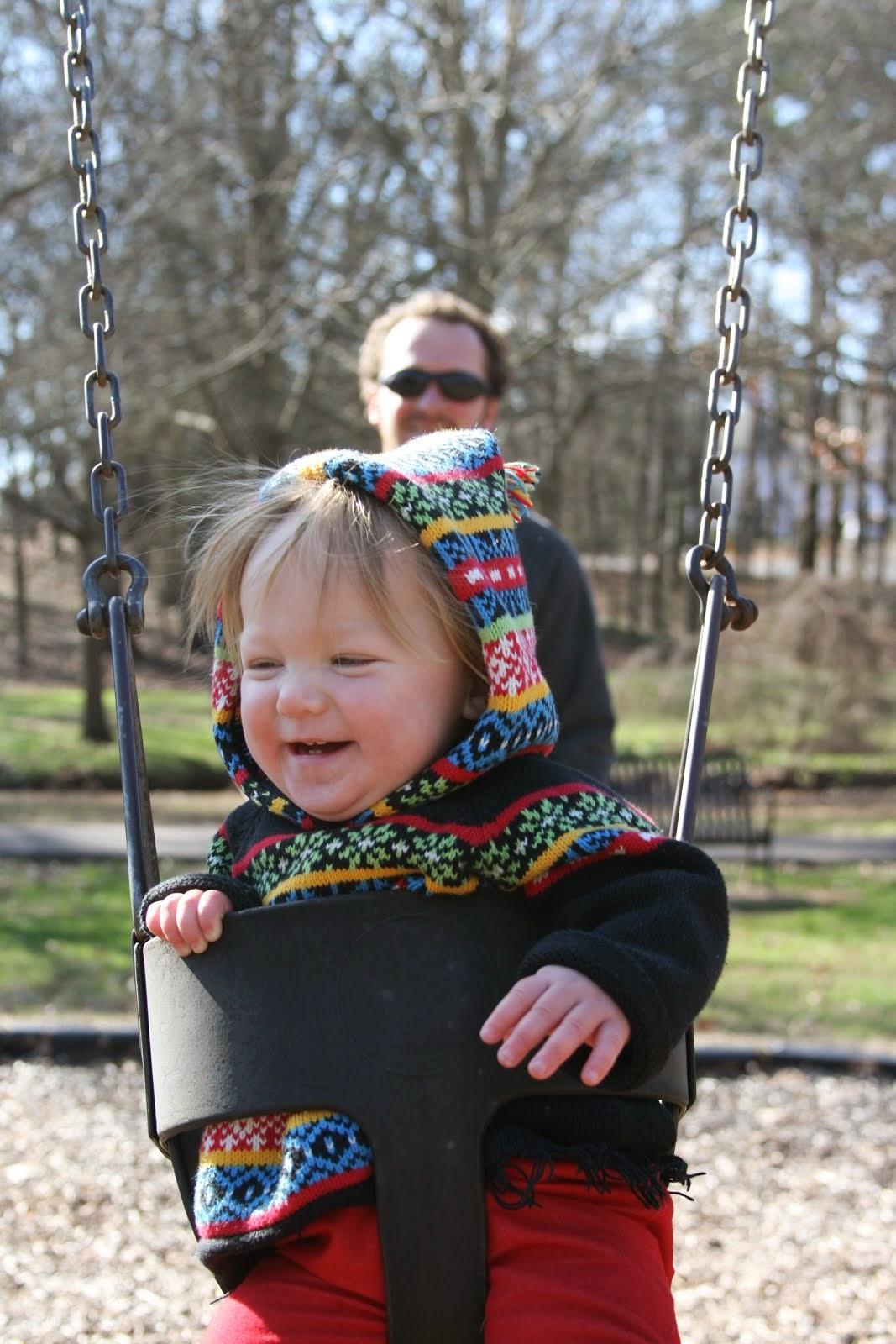 Swingin' with Dad
