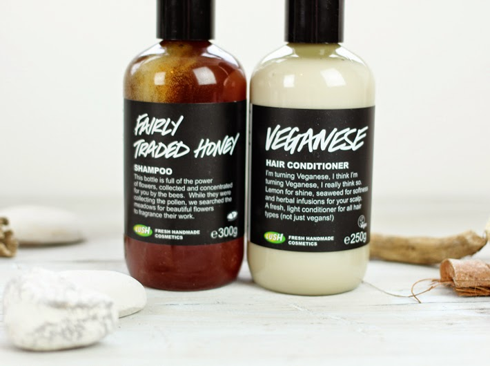 Lush Cosmetics Shampoo and Conditioner