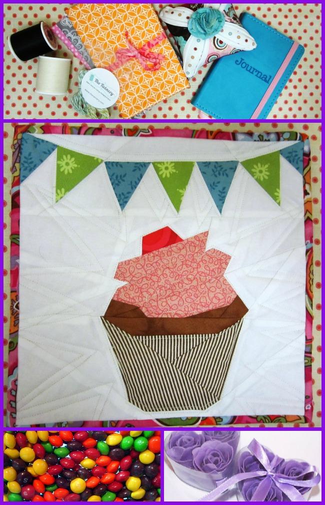 Fabric Basket Swap Goodies