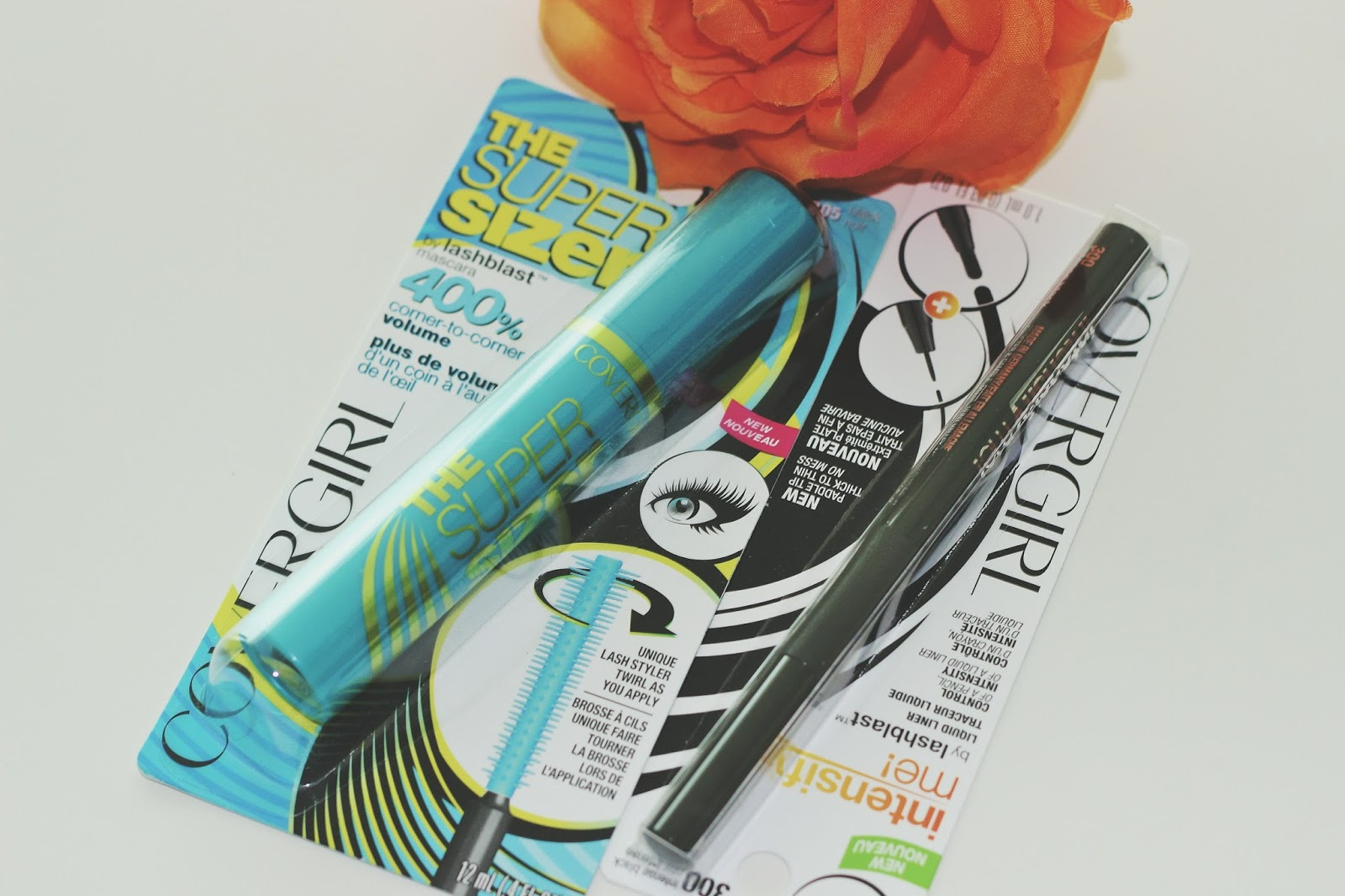 COVERGIRL LAUNCHES SUPER SIZER BLAST® MASCARA AND INTENSIFY ME! LIQUID EYELINER BY LASHBLAST | REVIEW & TIPS ON HOW TO APPLY