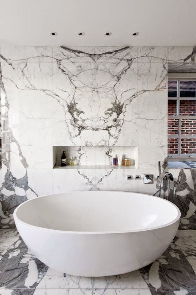 Marble bathroom and interiors