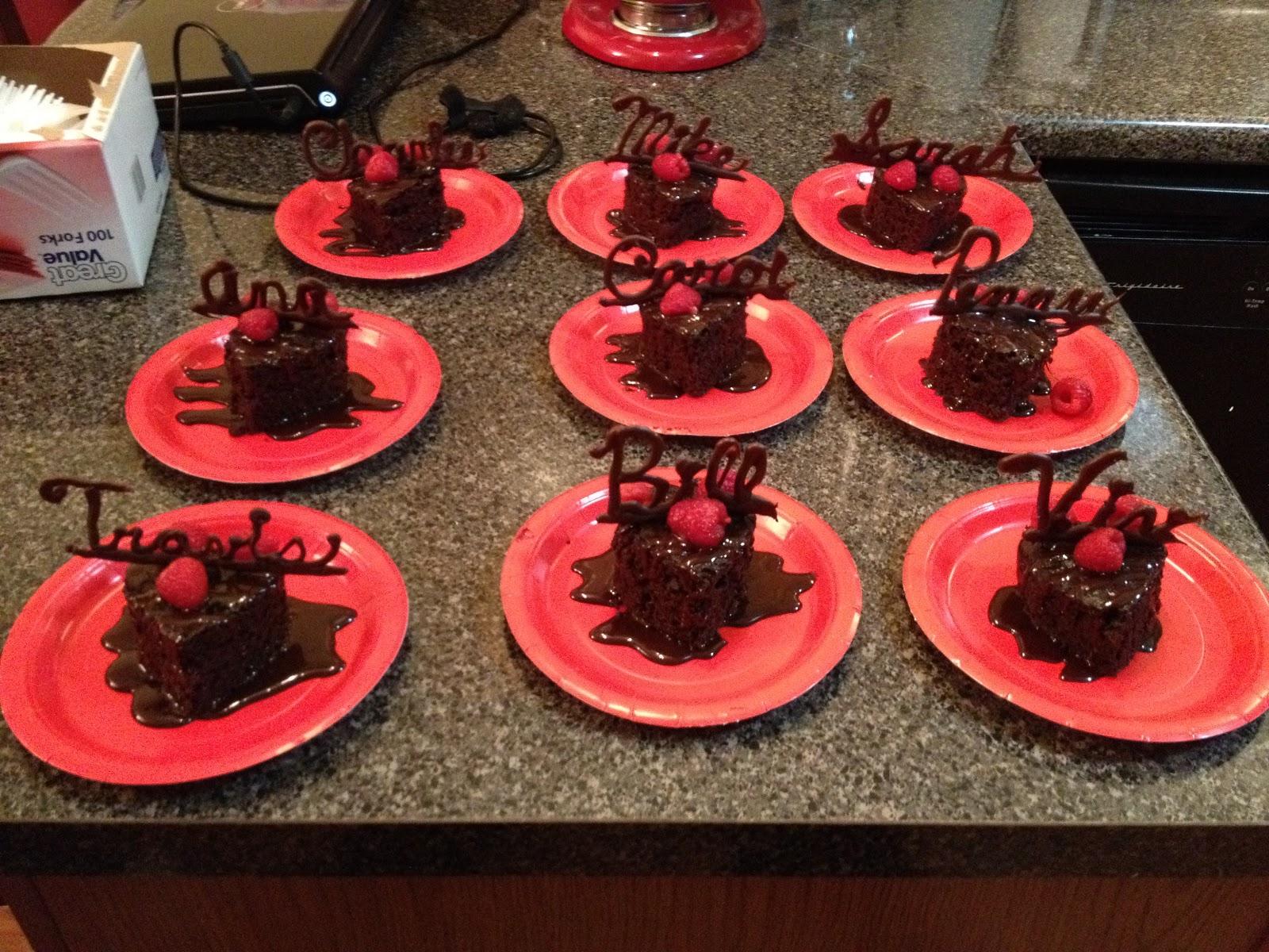 Stitching Momma: Recipe Review: Homemade Skinny Chocolate Cake
