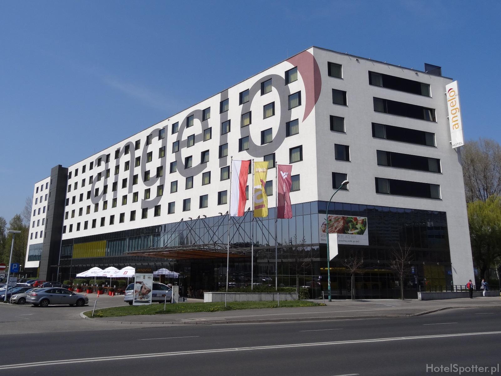 angelo Hotel Katowice - wyglad zewnetrzny