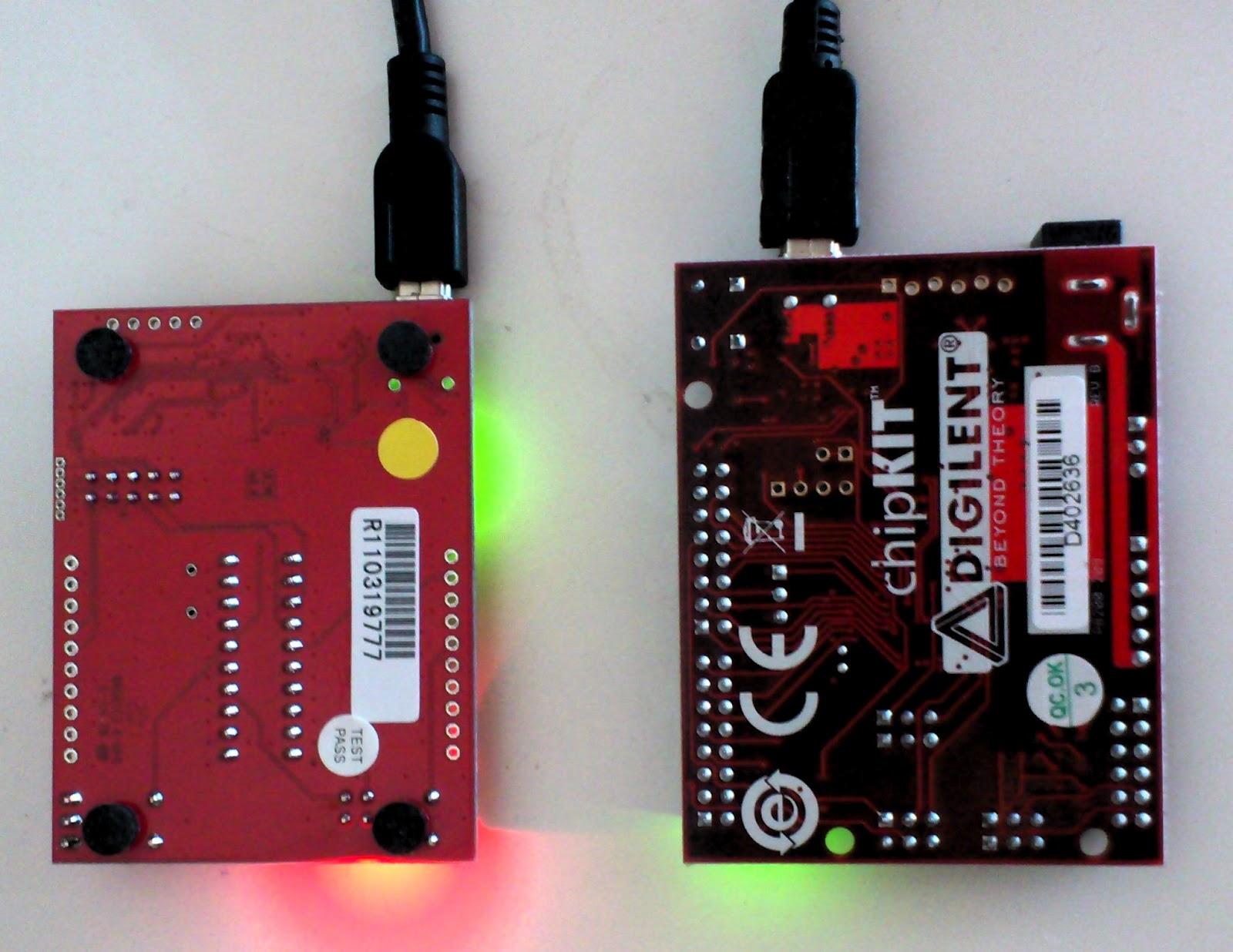 La ms launchpad arduino chipkit