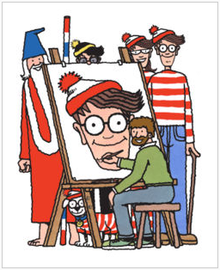 Where's Wally and the gang