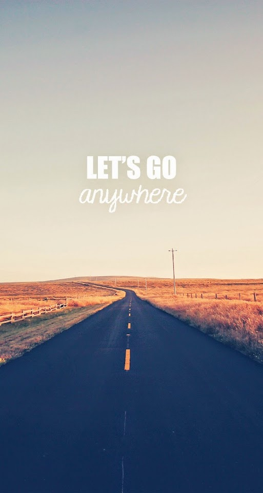Go Anywhere Road  Galaxy Note HD Wallpaper