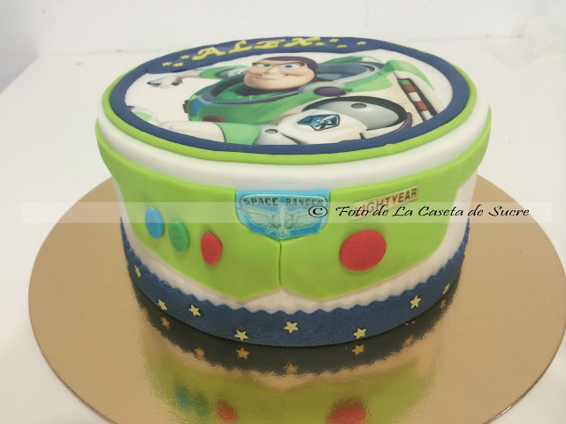tarta buzz light year cake 1