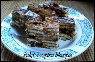 Kek Batik Milo