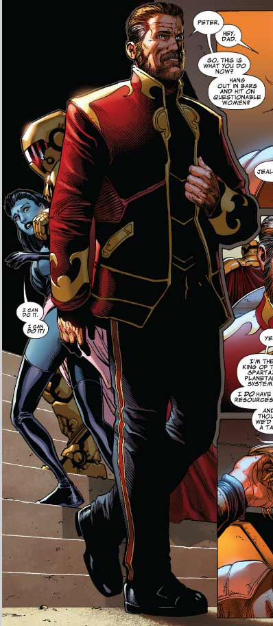 Now the inclusion of tony stark iron man in this comic means that