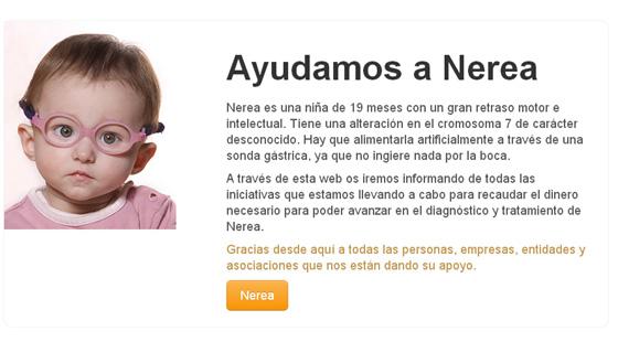 Ayudamos a Nerea