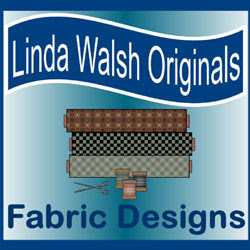 My New Linda Walsh Originals Fabric Designs Blog