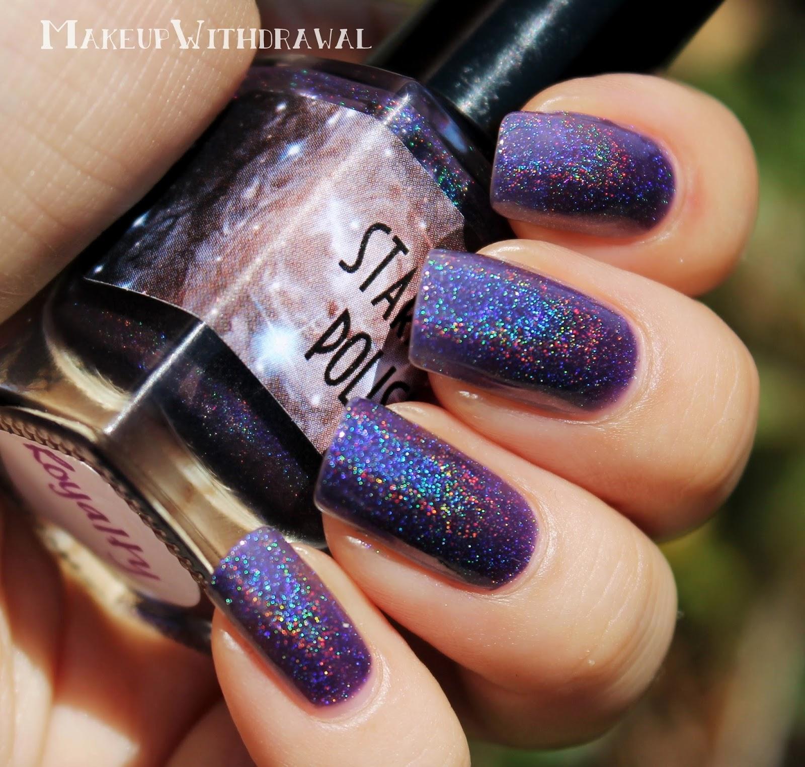 Star dust nail lacquer guerlain 25 - Stardust Polish Royalty
