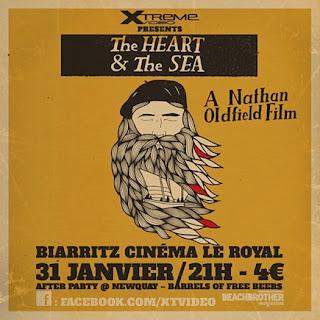 """XTreme Video présente la projection du film """"The Heart & the Sea"""" à Biarritz"""