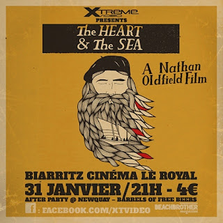 "XTreme Video présente la projection du film ""The Heart & the Sea"" à Biarritz"
