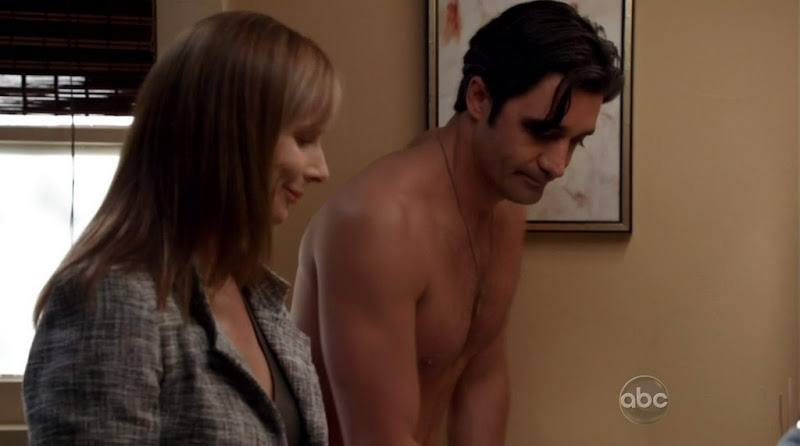 Gilles Marini Shirtless on Brothers and Sisters s5e18