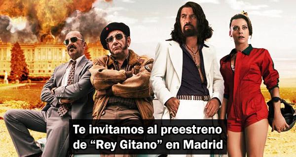 """Preestreno """"Rey Gitano"""" en Madrid"""