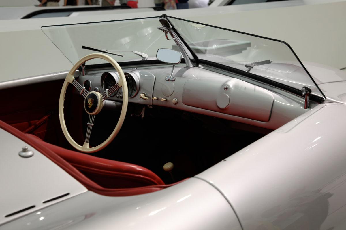 """Porsche 356 No 1 1948 The Porsche 356/1 was the first real Porsche car created by Ferdinand """"Ferry"""" Porsche. ... The aluminum roadster body of the Porsche 356/1 was designed by Porsche.Porsche No. 1 Type 356 (mid-engine prototype). Porsche 356 1948 Coupe"""