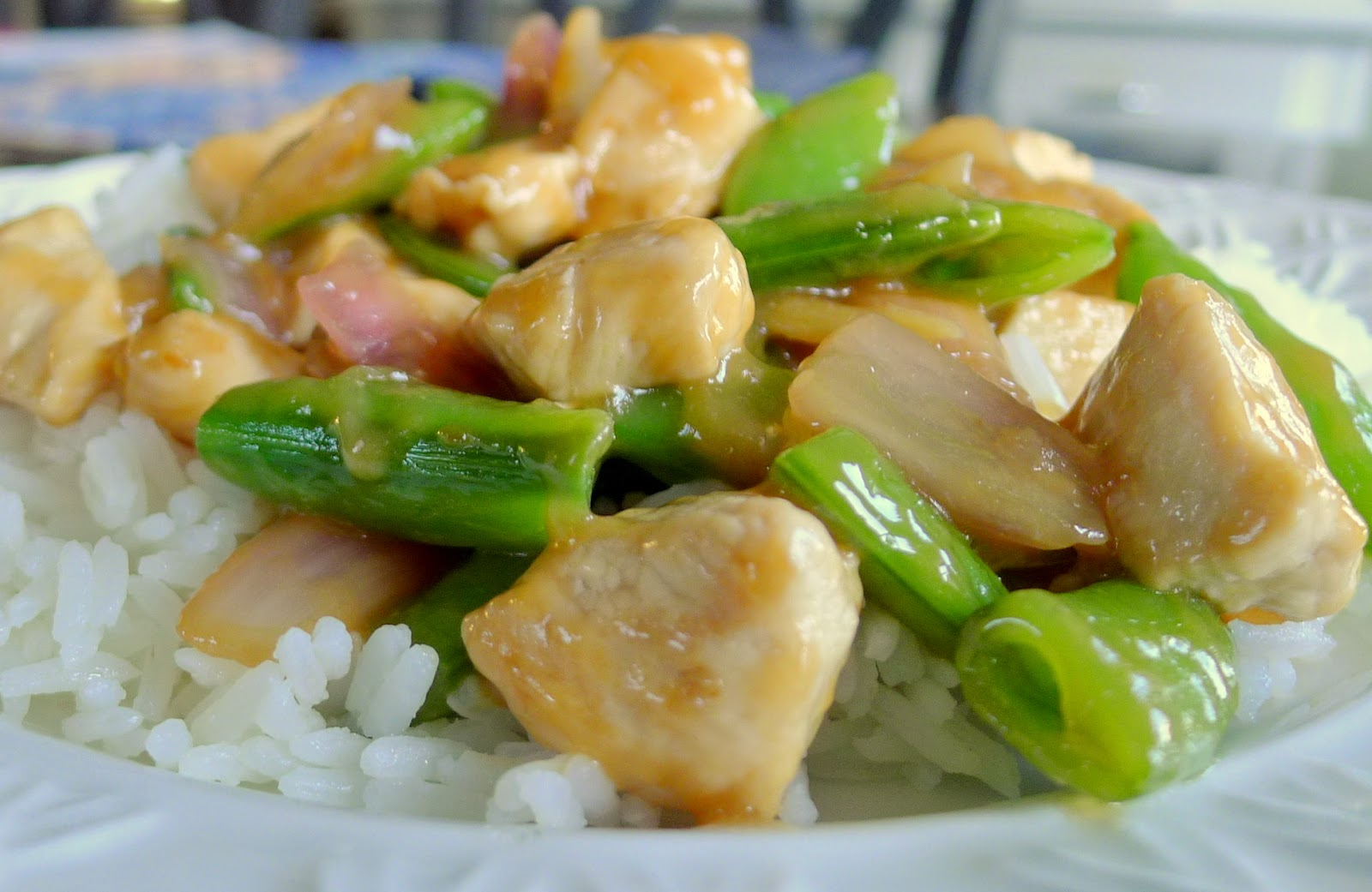 Chicken and Pea Pod Stir Fry Recipe