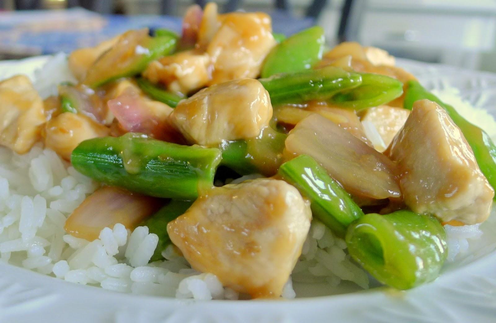 Chicken and Pea Pod Stir Fry Recipe