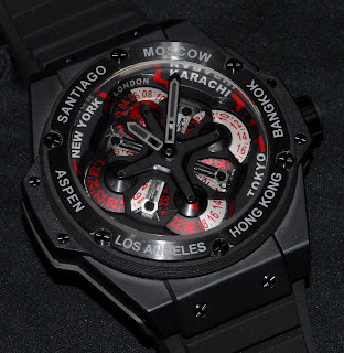 Montre Hublot King Power Unico GMT référence 771.CI.1170.RX
