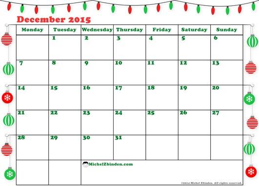 December 2016 Calendar Printable Template Datariouruguay