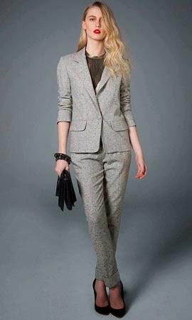NK Store coleção inverno conjunto de blazer e calça tweed TalieNK