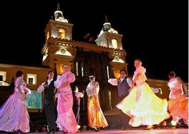 Programación de las fiestas de Quito 2012