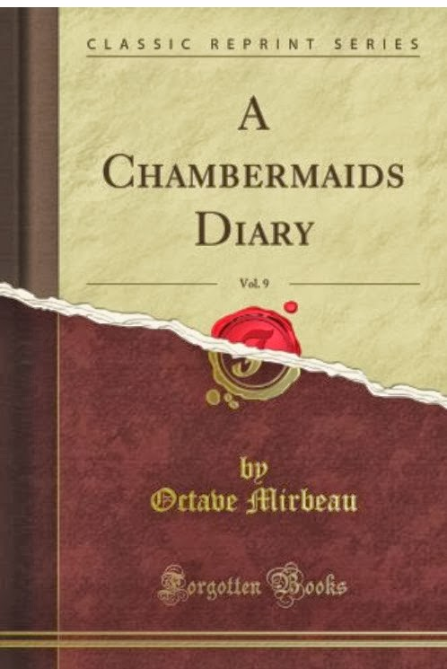 """Traduction anglaise du """"Journal d'une femme de chambre"""", Forgotten Books, 2012"""