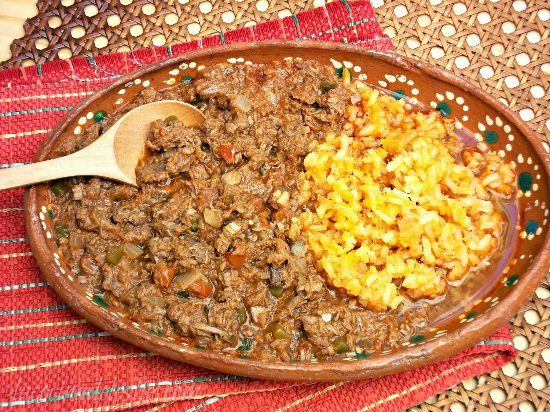 Shredded Beef Picadillo - lacocinadeleslie.com