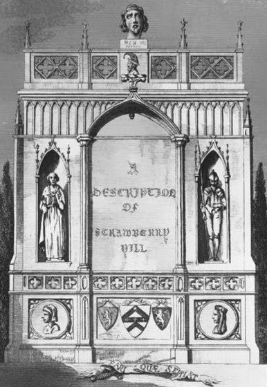 Frontispiece to A Description of the Villa at Strawberry Hill