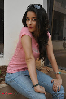 Madhurima  Pictures in Tight Pink T