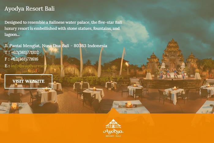 Singgasana Hotels & Resorts pilihan akomodasi terbaik di Indonesia