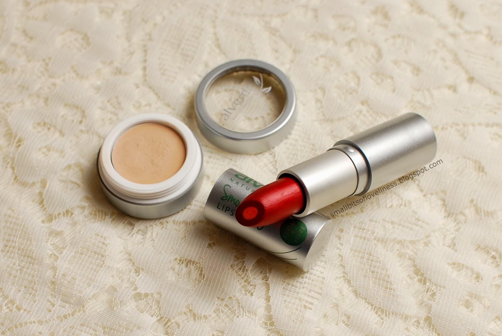 Alverde Concealer, Smoothing Lipstick