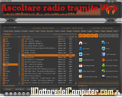ascoltare radio tramite internet